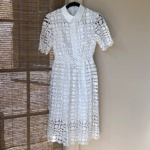 Chicwish eyelet lace dress